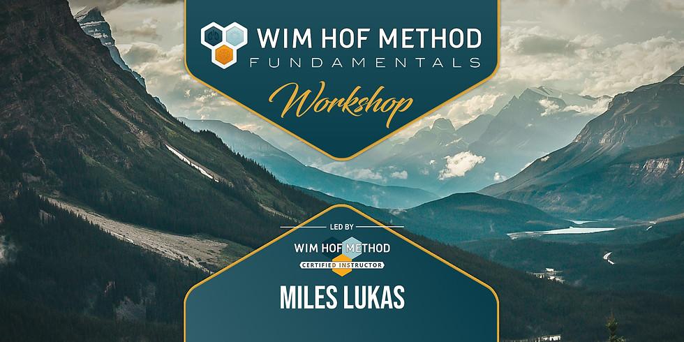Wim Hof Method Fundamentals | Indigo Dragon Center | Encinitas, CA | 7-9