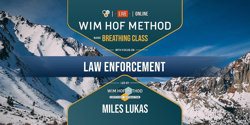 WHM Breathing Class   Law Enforcement