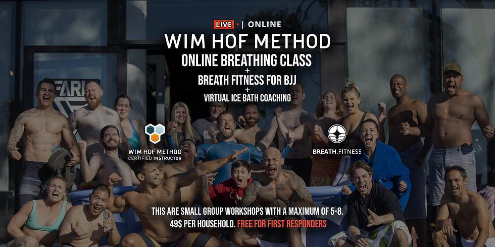 WHM Online Breathing Class + Breath Fitness for BJJ #2