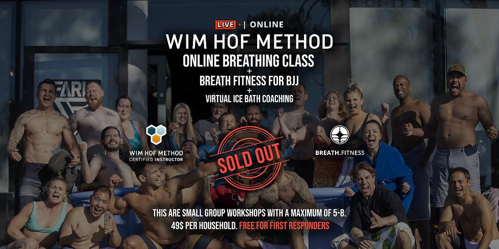 WHM Online Breathing Class + Breath Fitness for BJJ