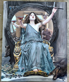 Master Copy of Circe by Waterhouse