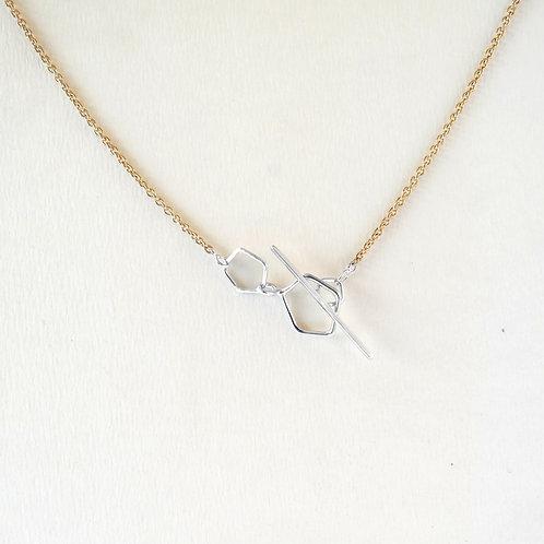 Chaine Light Crystal Vermeil