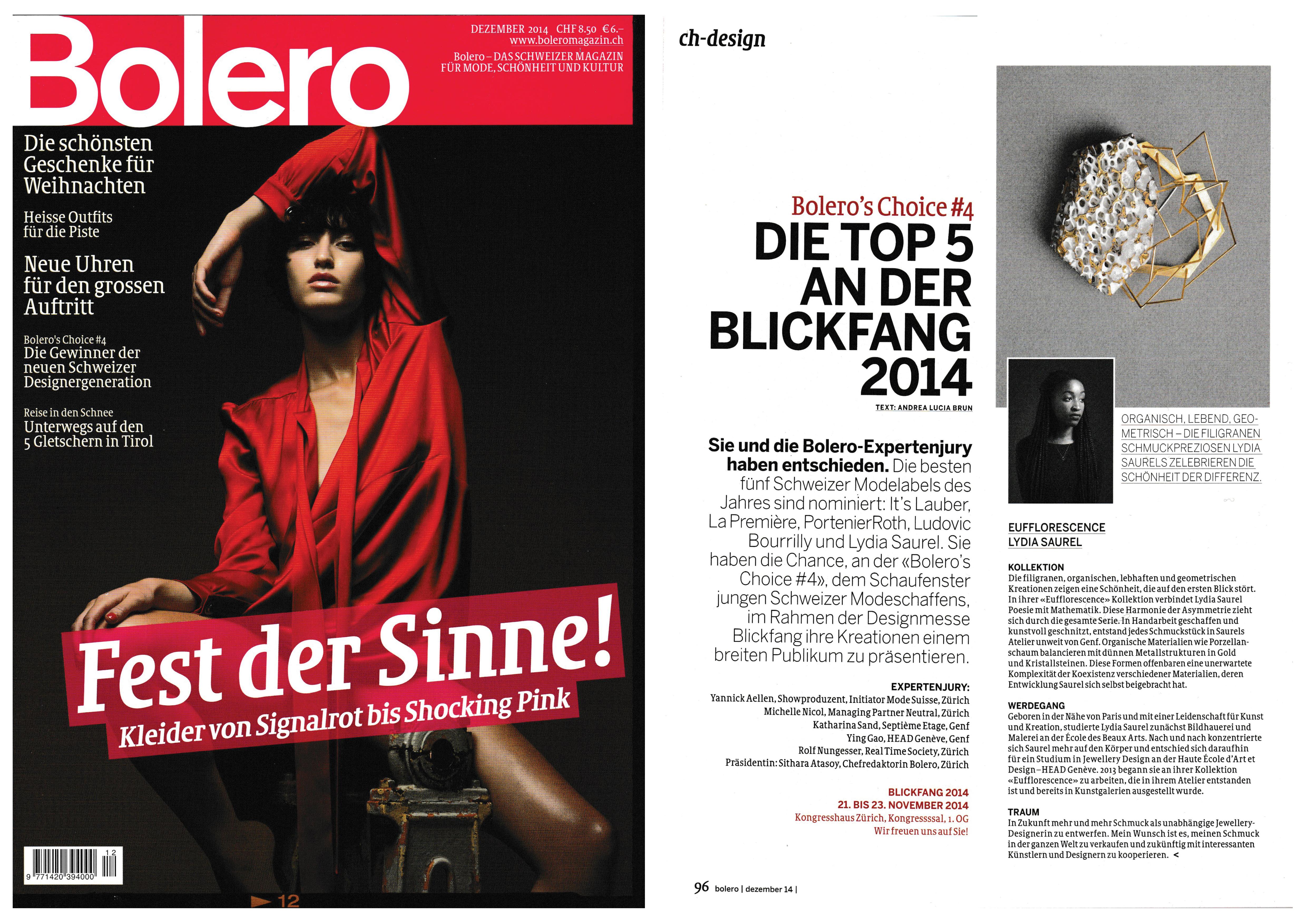 Bolero Magazine