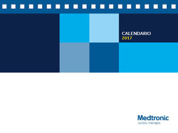 Calendario Medtronic 2017