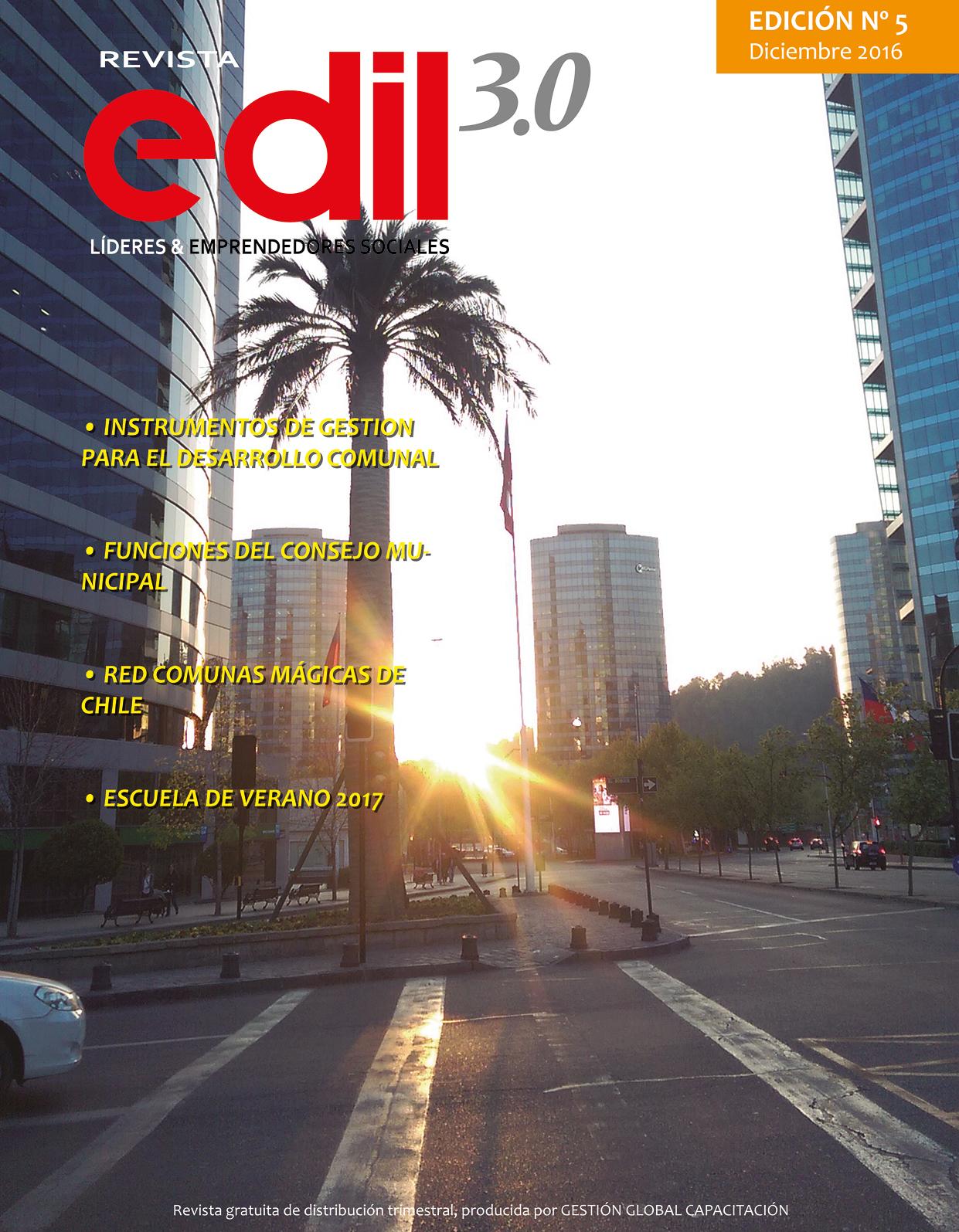 Diseño revista EDIL 3.0