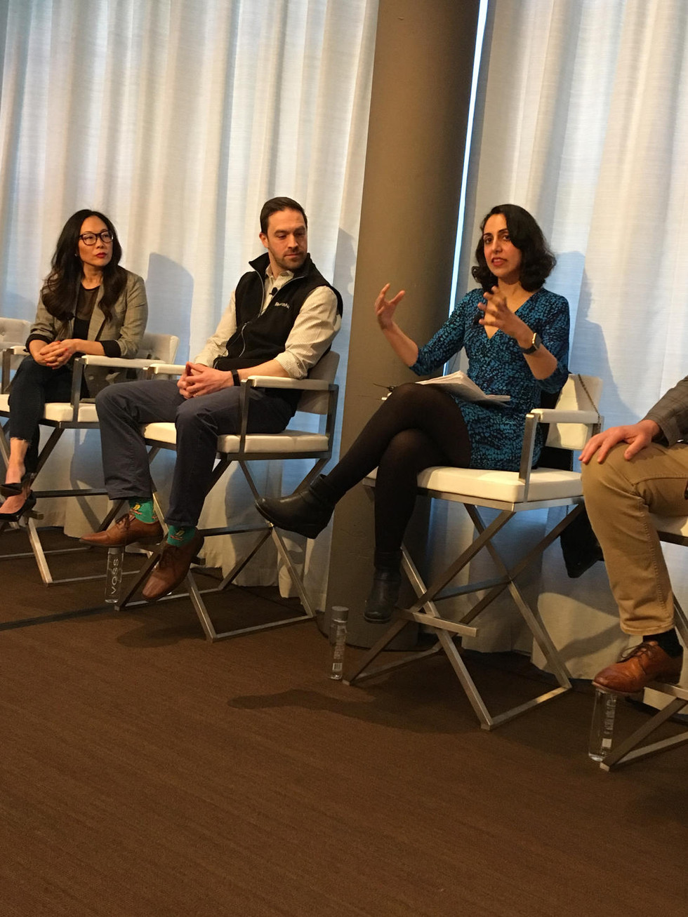 """Ms. Salehpour Recently Spoke at the California Association of Relators Panel on """"Analyzing Prop"""