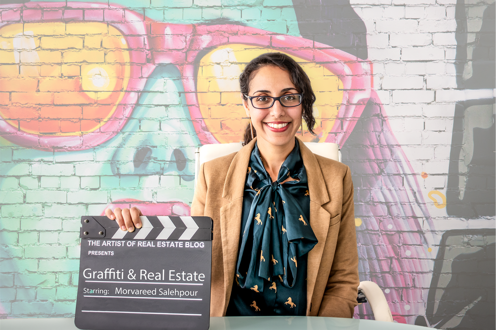 Ms. Salehpour Recently Interviewed on Graffiti Right and Real Estate