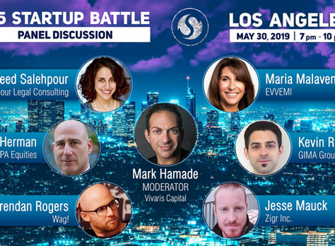 Ms. Salehpour Speaking at 145 Startup Battle, Los Angeles