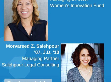 Ms. Salehpour Recently Discussed the Impact of Emerging Tech for UCLA
