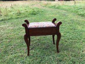 Vintage Piano Stool - £35