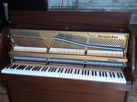 Marshall & Rose upright piano