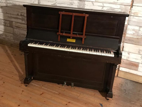 Chappell 1930s mahogany upright piano