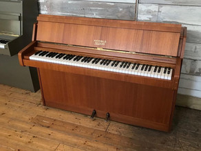 Kemble Minx 1980s upright piano