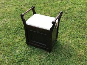 Vintage Piano Stool - £85