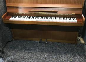 Steinmann 1980s upright piano