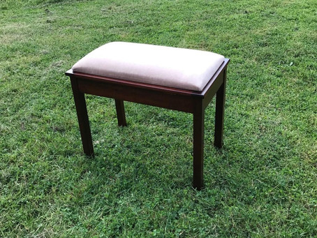 Secondhand Piano Stool - £65