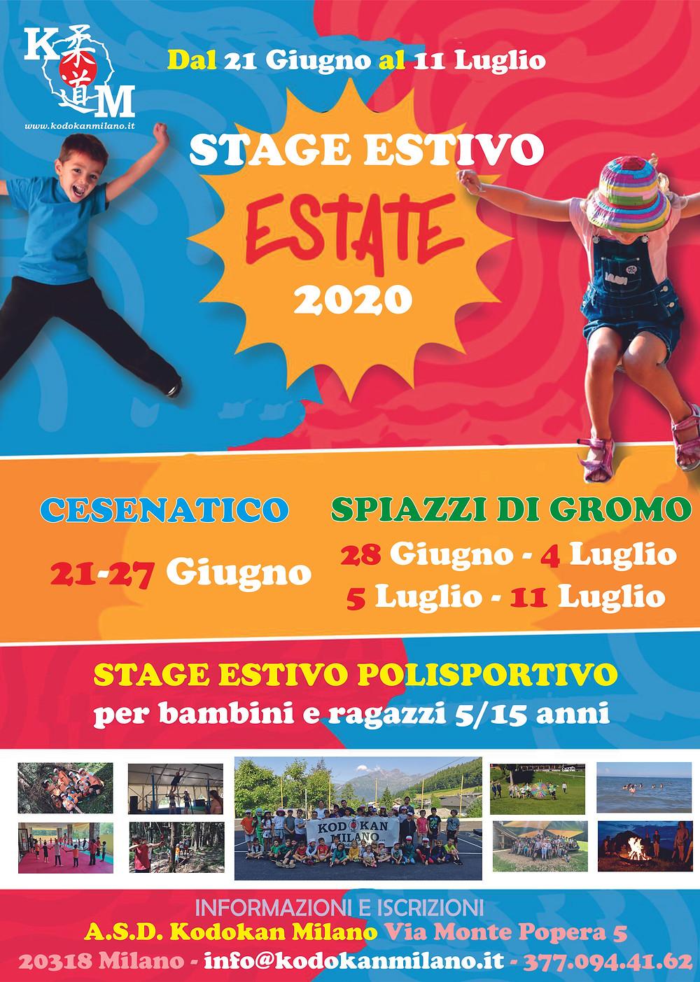 CAMPI ESTIVI 2020