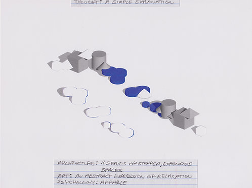 Original Architectural Drawings-Architectural Psychology-A Simple Explanation