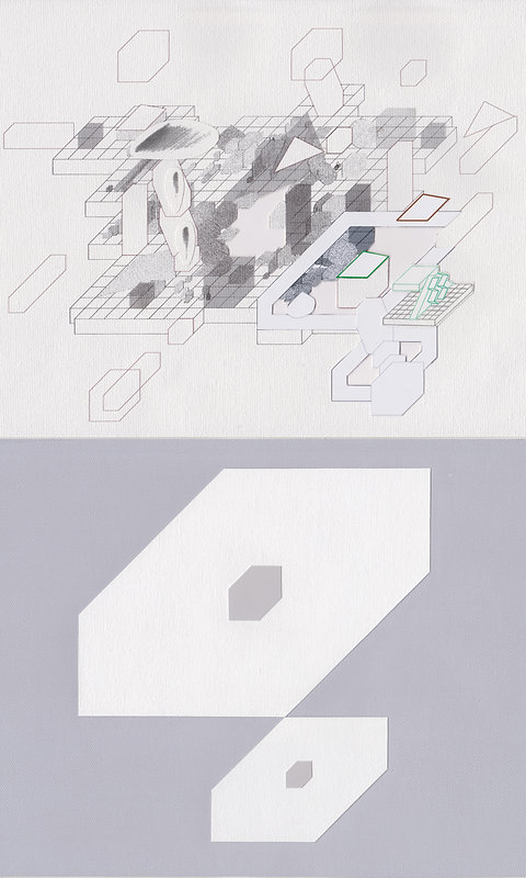 Original Architectural Art:Dictionary of Architectural Psychology:Mesa