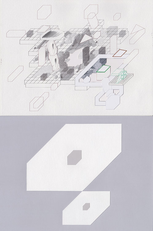 Original Architectural Art-Architectural Psychology-spatial definition that suggests security and equanimity