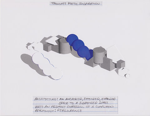 Original Architectural Drawings:Conceptual Thought Glossary:Poetic Inspiration