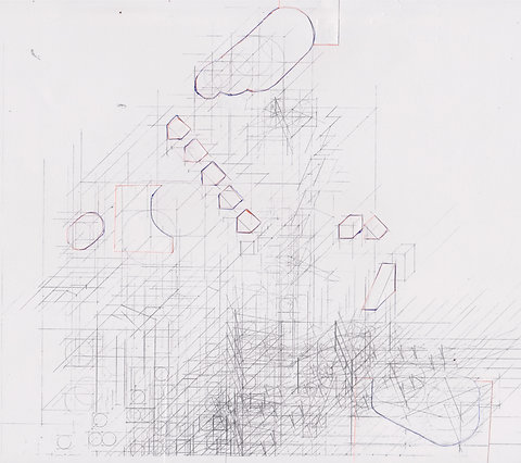 Original Architectural Drawings:Conceptual Architecture Sketch:Clouds Valley
