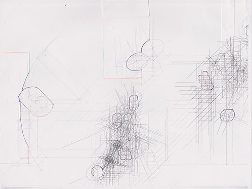 Original Architecture Art-Conceptual Architecture Sketchbook of Empathetic Architecture-Forest Waterfall