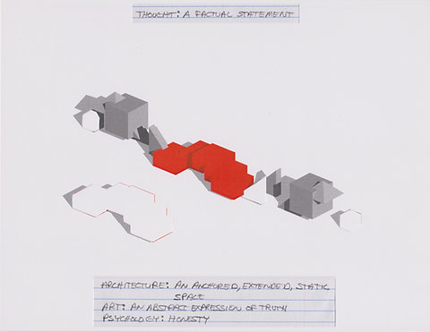 Original Architectural Drawings:Conceptual Thought Glossary:A Factual Statement