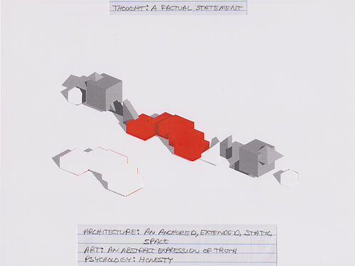 Original Architectural Drawings-Architectural Psychology-A Factual Statement