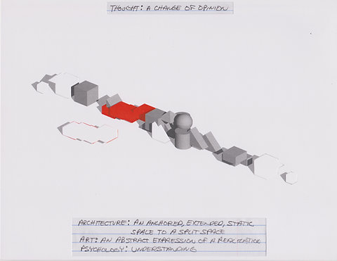 Original Architectural Drawings:Conceptual Thought Glossary:A Change of Opinion