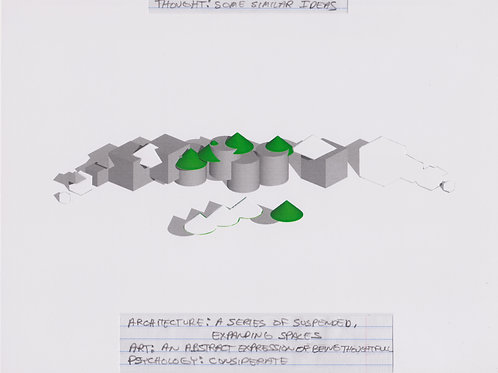Original Architectural Drawings-Architectural Psychology-Some Similar Ideas