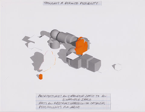 Original Architectural Drawings:Conceptual Thought Glossary:Definite Possibility