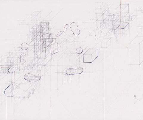 Original Architectural Drawings:Conceptual Architecture Sketch:Mountain Spring