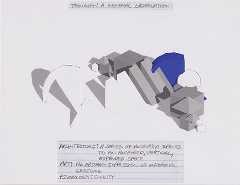 Original Architectural Drawings:Conceptual Thought Glossary:General Observation