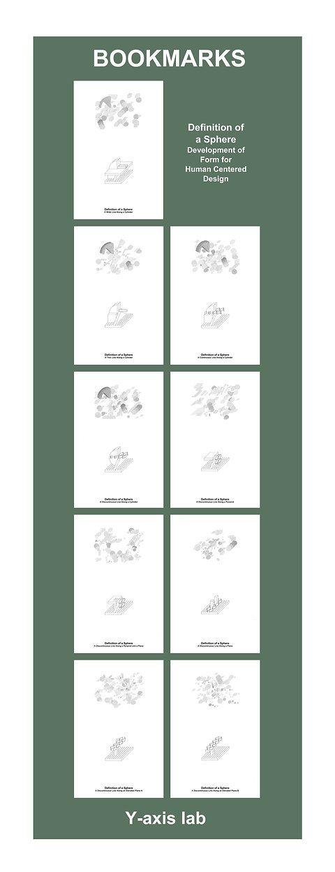 Architecture Psychology Artform:Print Set:Bookmarks