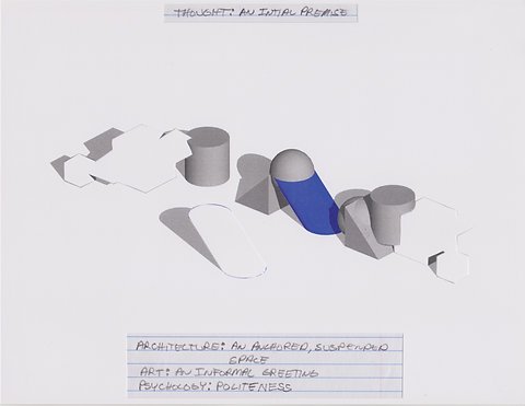 Original Architectural Drawings:Conceptual Thought Glossary:An Initial Premise