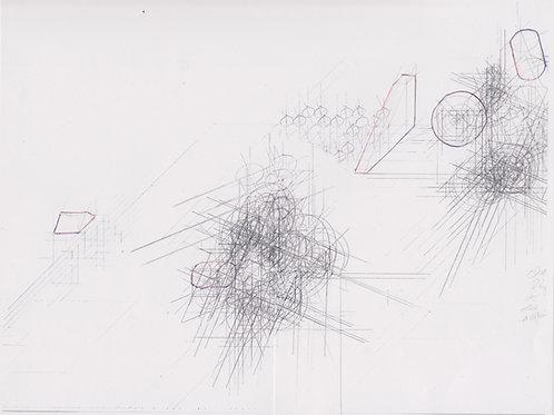 Original Architecture Art-Conceptual Architecture Sketchbook of Empathetic Architecture-Mountain Waterfall