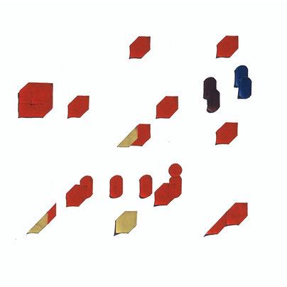 Original Architectural Art: Conceptual Development:Movement Through a Cube A