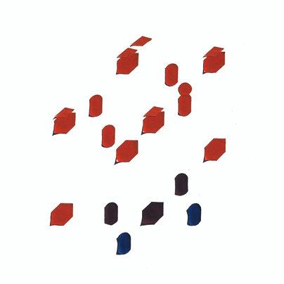 Original Architectural Art: Conceptual Development:Movement Through a Cube D