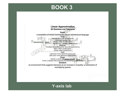 Empathetic Architecture Book-Book 3-Linear Approximation-3D Sketches and Humility