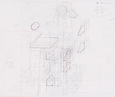 Original Architectural Drawings:Conceptual Architecture Sketch:Plateau
