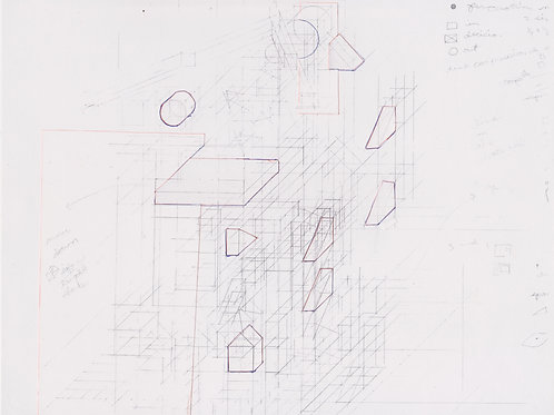 Original Architecture Art-Conceptual Architecture Sketchbook of Empathetic Architecture-Plateau