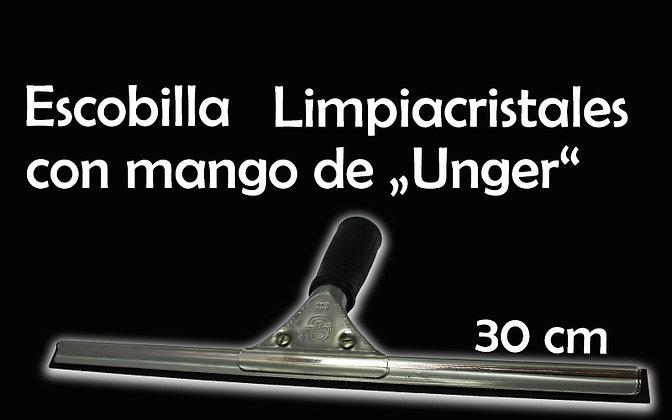 "Escobilla Limpiacristales 30 cm con mango ""Unger"""