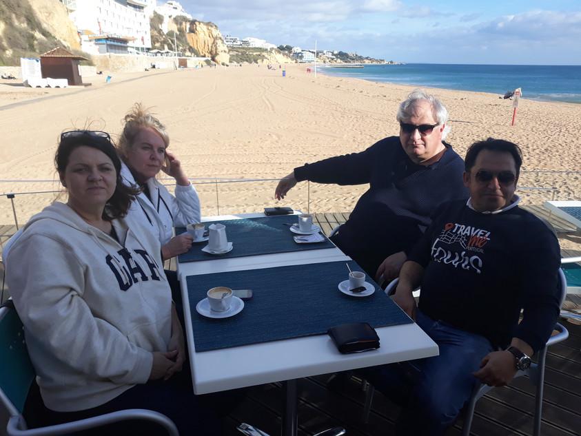 Praia de Albufeira. Algarve