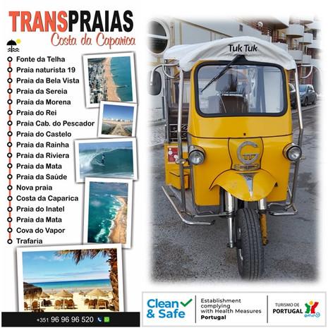TRANSPRAIAS CAPARICA