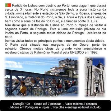 Itinerário Porto Tour