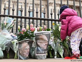Comenzó el funeral del príncipe Felipe, marido de la reina Isabel II