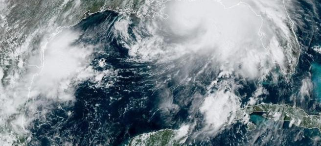 El huracán Sally tocó tierra en el sur de EEUU con vientos de hasta 165 km/h