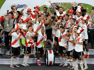 River, campeón de la Supercopa Argentina: goleó a Racing 5-0