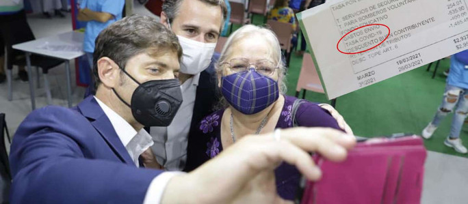 """Impuesto """"COVID-19"""": un municipio de la Provincia de Buenos Aires cobra una tasa por la pandemia"""